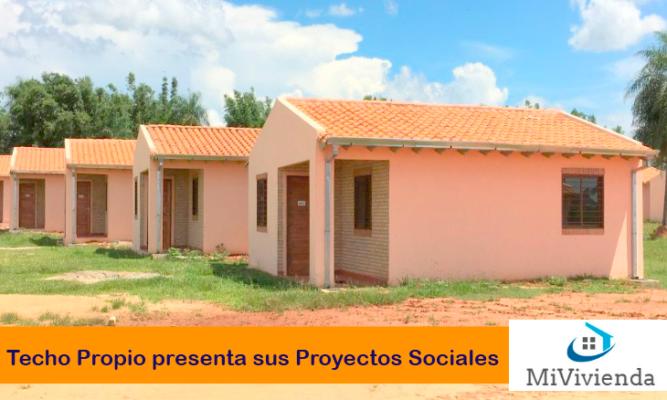 Proyectos Sociales Techo Propio